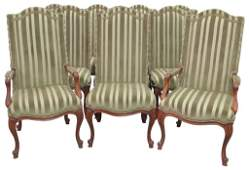 10 HARDEN LOUIS XVI STYLE DINING CHAIRS
