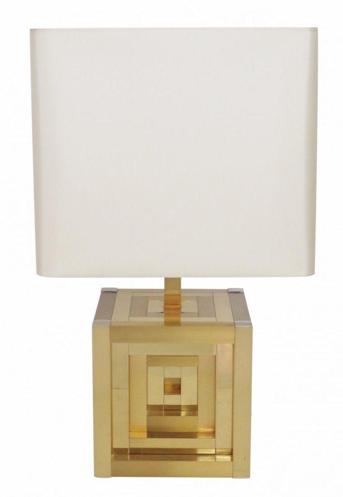 WILLY RIZZO LUMICA GEOMETRIC TABLE LAMP