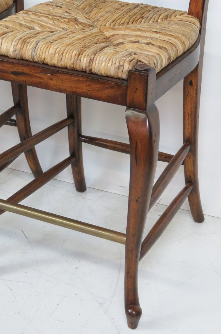 3 MAITLAND SMITH COUNTRY FRENCH BAR STOOLS - 2
