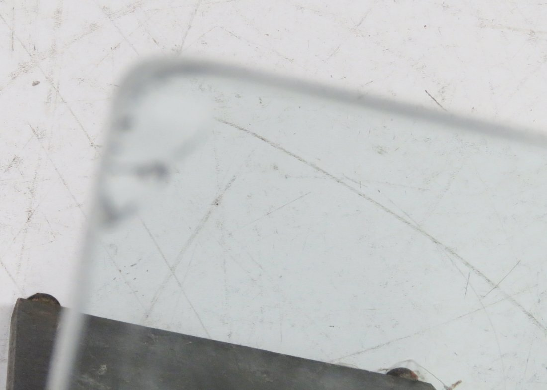 MODERN DESIGN METAL & CHROME BASE GLASS TOP COFFEE - 6