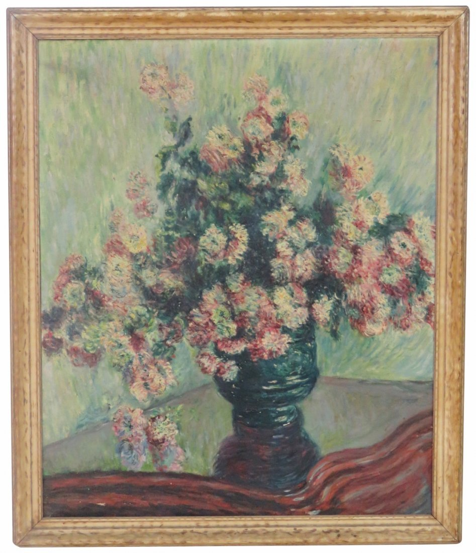 OIL PAINTING FLORAL BOUQUET