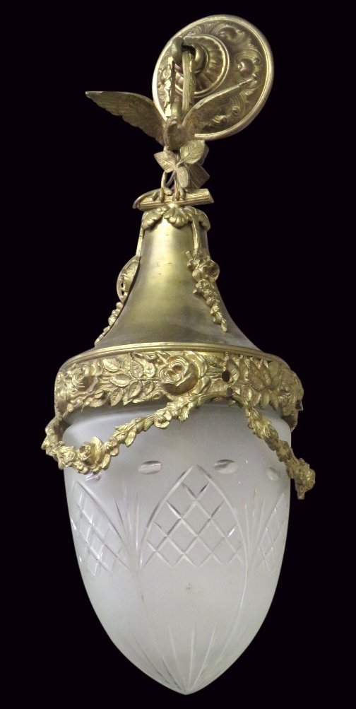 FRENCH STYLE BRASS HANGING LIGHT