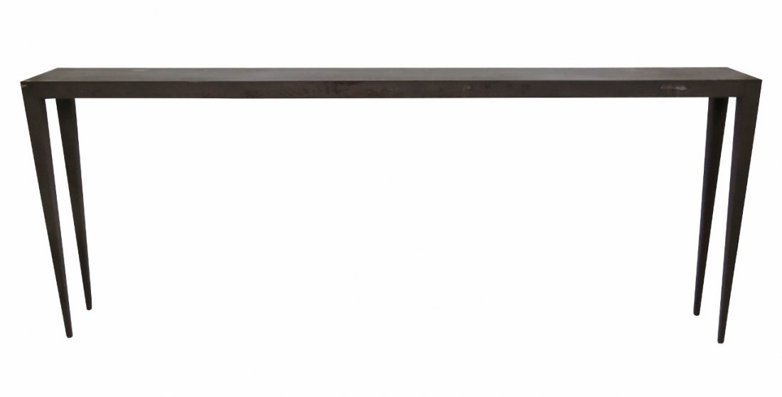 INDUSTRIAL STYLE IRON CONSOLE TABLE