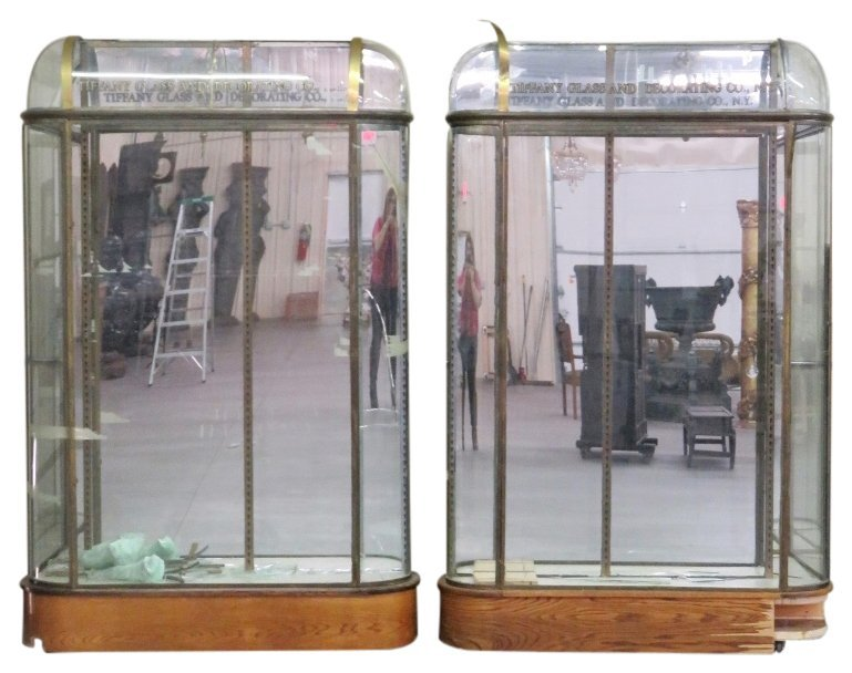 Pair TIFFANY & Co. DISPLAY CASES