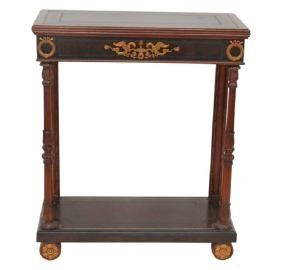 FRENCH EMPIRE STYLE CONSOLE TABLE