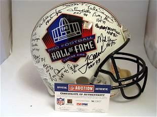 HoF - 2004 Hall of Famers Autod Authentic Helmet