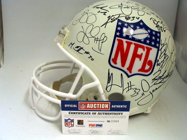 5: NFL - 2004 NFL Rookies Autod Authentic Helmet