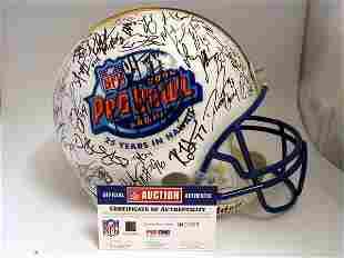 NFL - 2004 Pro Bowlers Autod Authentic Helmet