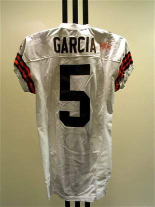 NFL - GARCIA Autod Game Used Jersey