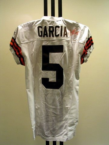 8: NFL - GARCIA Autod Game Used Jersey