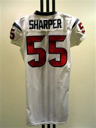 NFL - SHARPER Autod Game Used Jersey