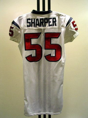 9: NFL - SHARPER Autod Game Used Jersey