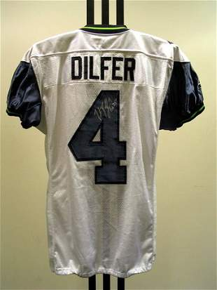 NFL - DILFER Autod Game Used Jersey