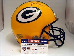 NFL - Brett Favre Autod Game Used Helmet