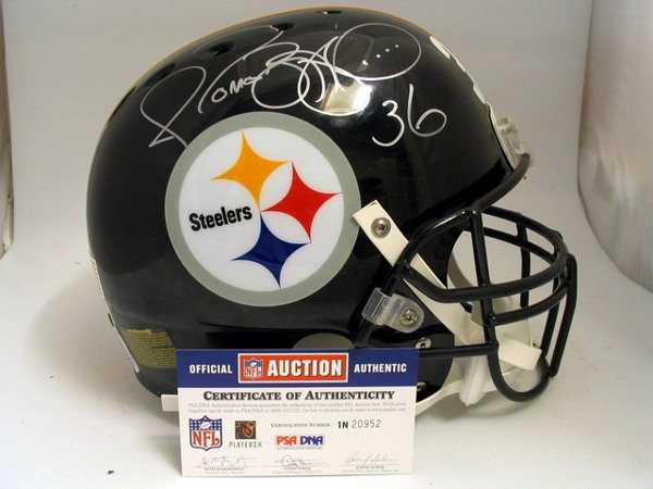 21: NFL - Jerome Bettis Autod Game Used Helmet