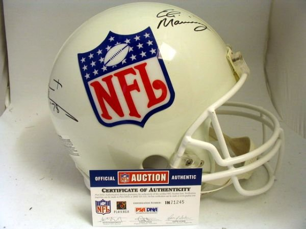 1: NFL - 2004 Draft Top Picks Autod Authentic Helmet