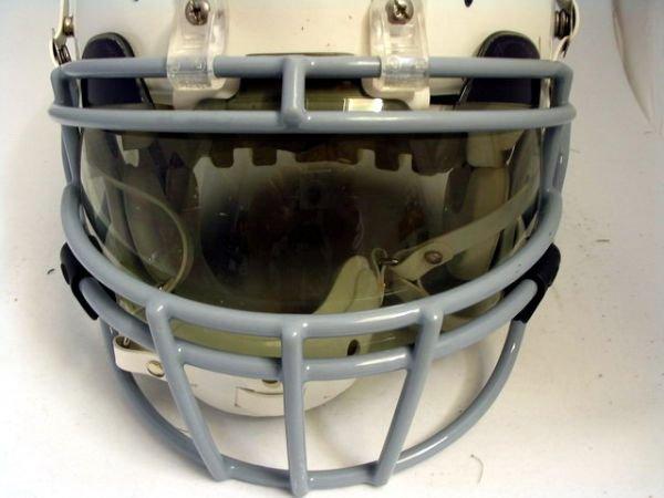 19: Chargers - Tomlinson Game Used Throwback Helmet - 2
