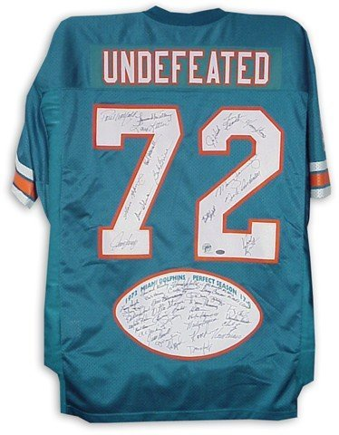 15: 1972 Limited Edition Miami Dolphins Perfect Season