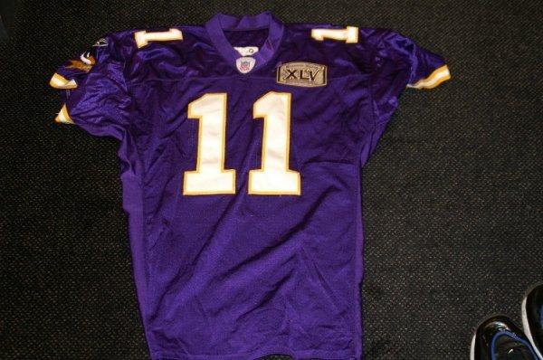 16: Vikings-Daunte Culpepper game used jersey