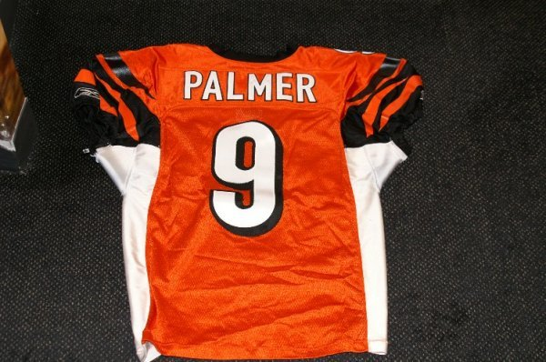 22: Carson Palmer game used jersey - 2