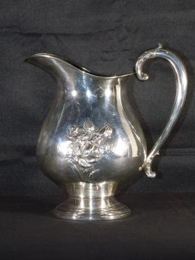An Amiston Sterling Silver Water Pitcher