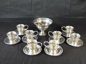 Seventeen American Sterling Silver Table Articles