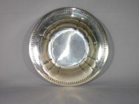 A Watson Pierced Sterling Silver Bowl