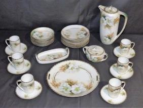R.S. Germany Porcelain Demitasse Set