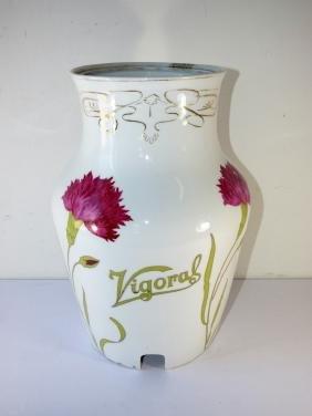 Antique Porcelain 'Vigoral' Apothecary Dispenser