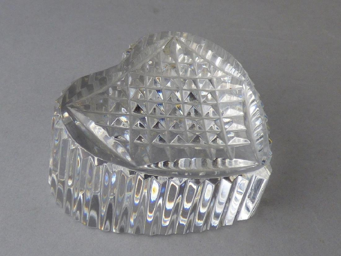 Waterford Crystal Heart Paperweight