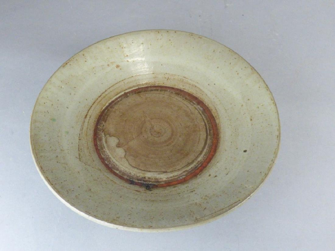 Antique Asian Celadon Porcelain Bowl