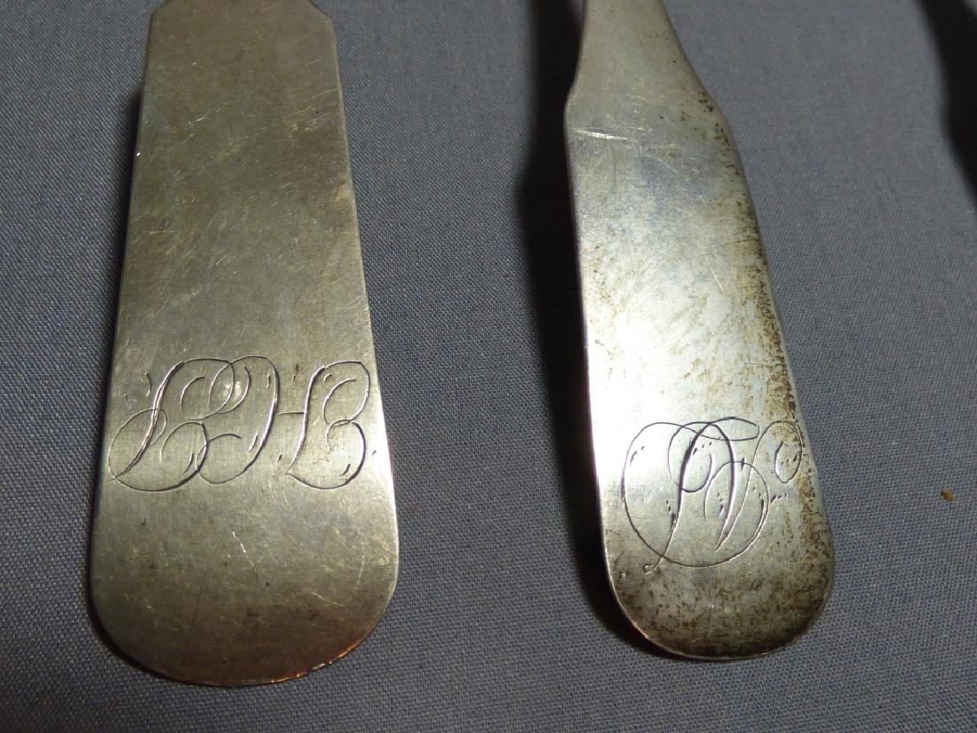 Seven American Coin Silver Spoons - 3