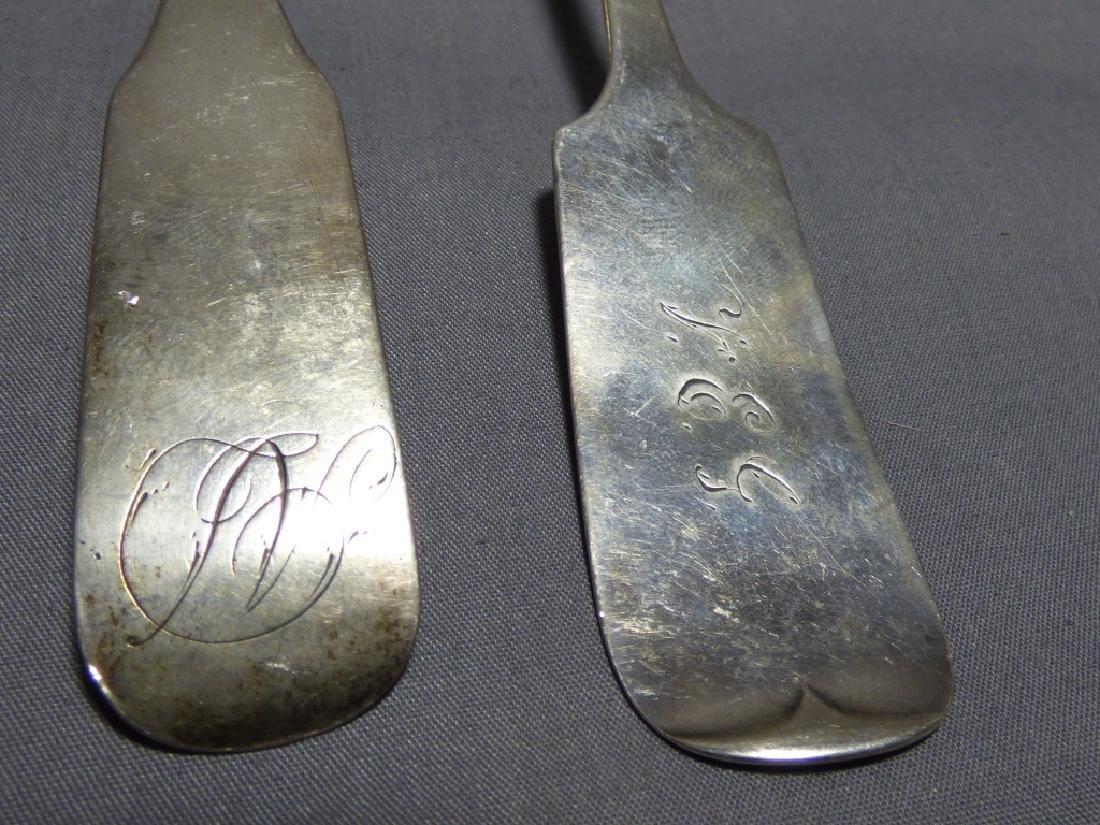 Seven American Coin Silver Spoons - 4