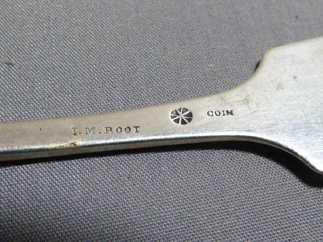 Seven American Coin Silver Spoons - 6