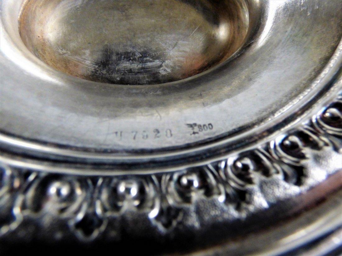 Fine Continental .800 Silver Compote - 7