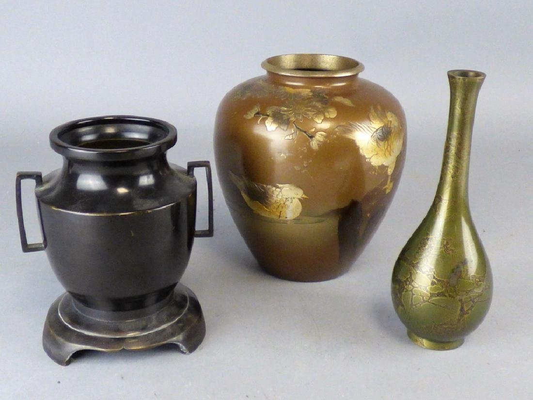 Three Various Japanese Vases