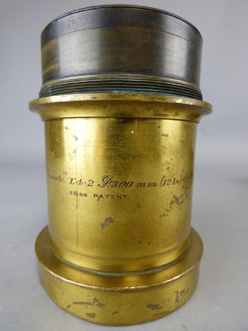 Antique Ross Carl Zeiss Planar Lens