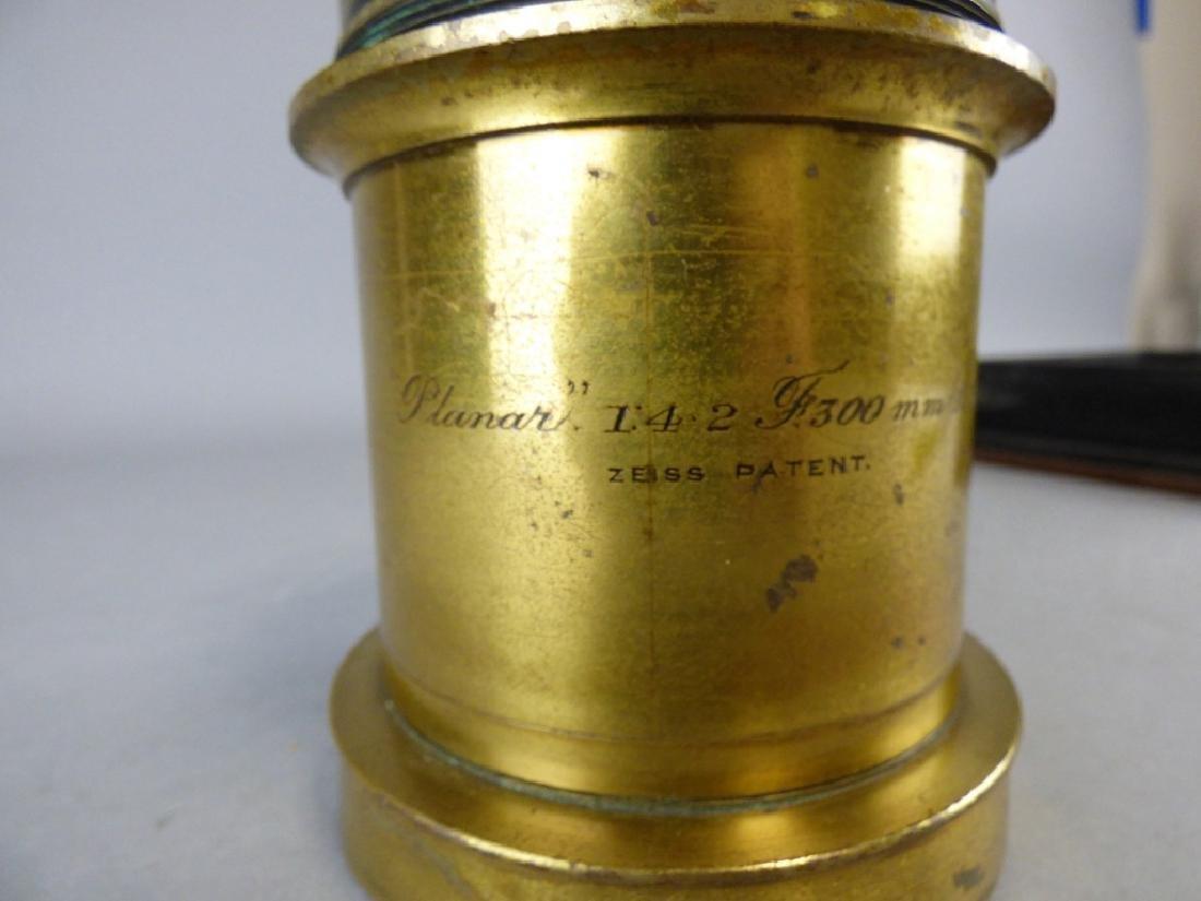 Antique Ross Carl Zeiss Planar Lens - 2