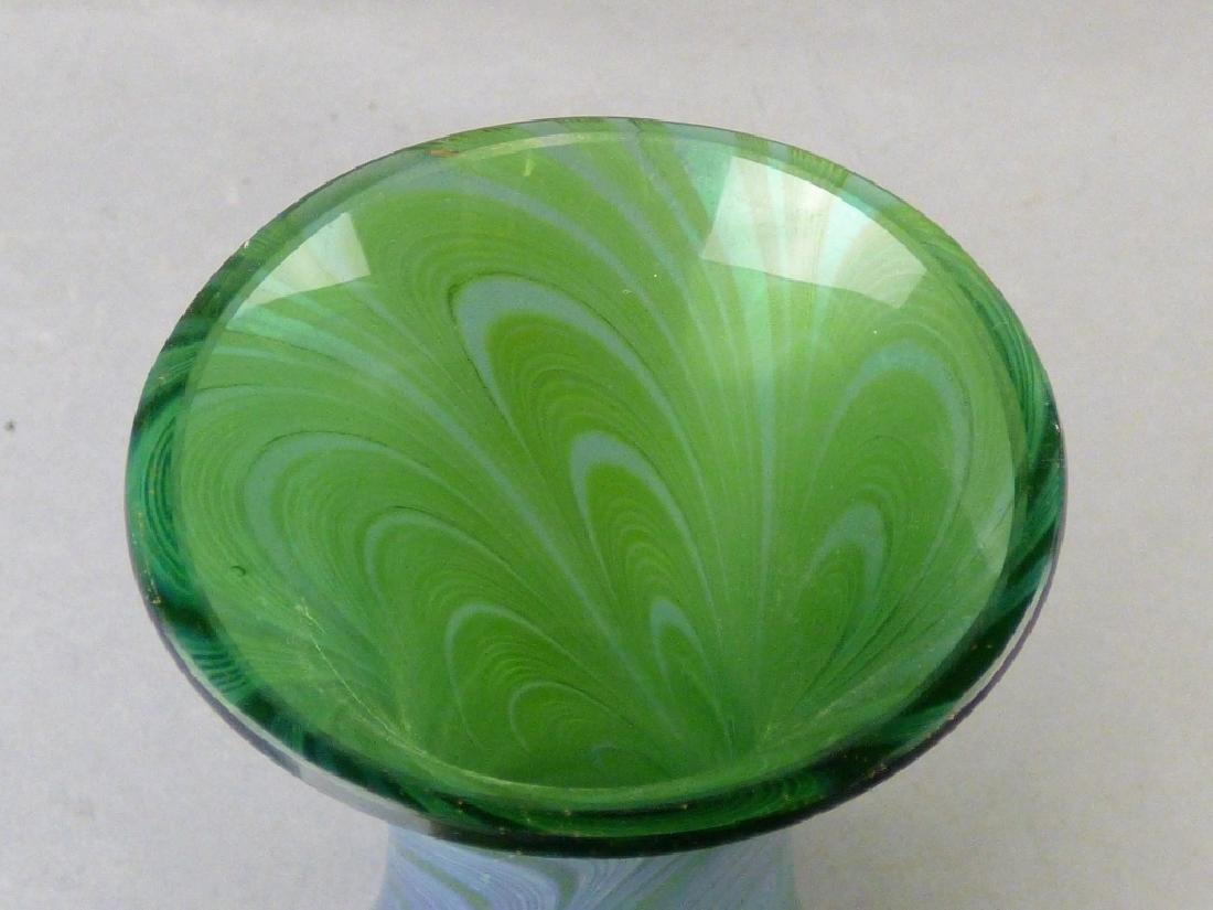 Iridized Bohemian Glass Vase - 3