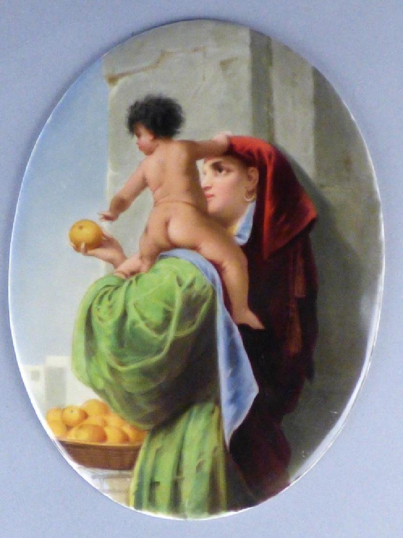 Antique Porcelain Plaque - 4