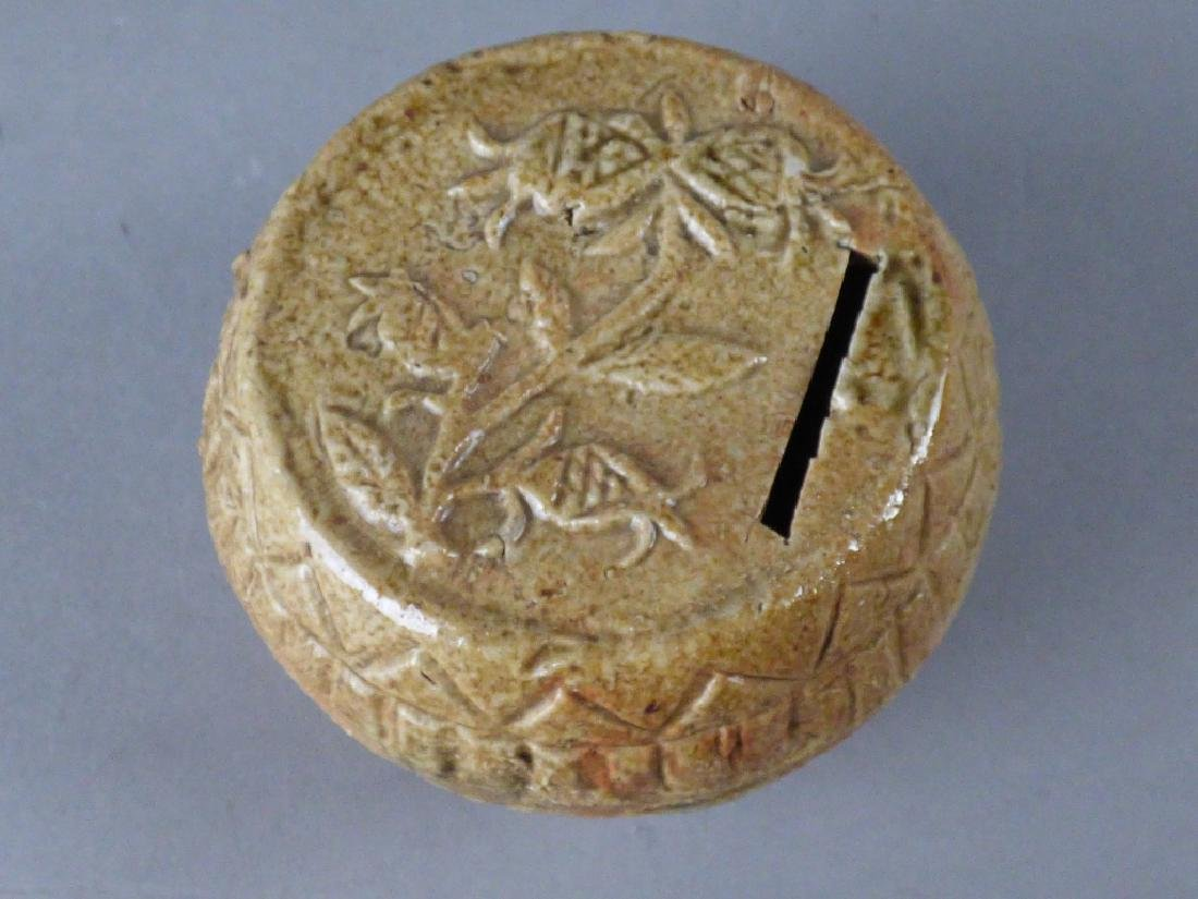 Two Chinese Pottery Coin Banks - 3