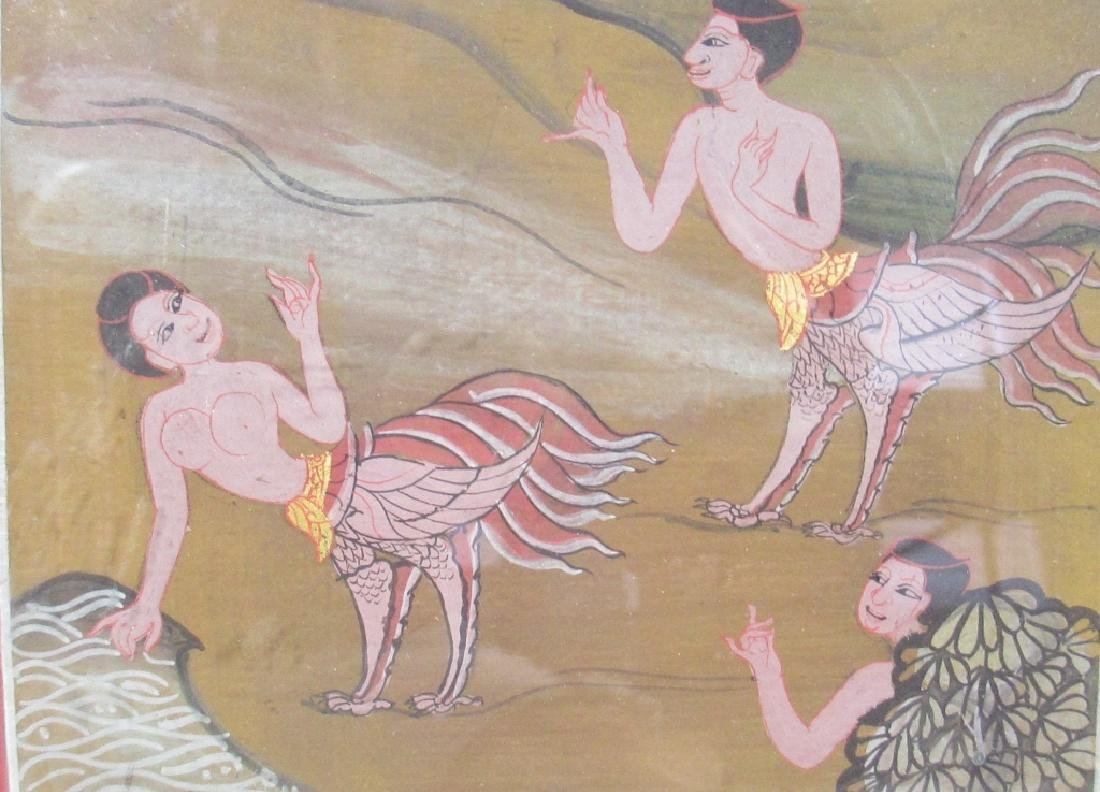 A Southeast Asian Painting - 4