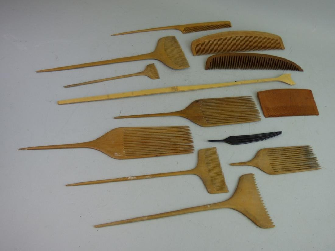 Group of Assorted Geisha's Wig Combs