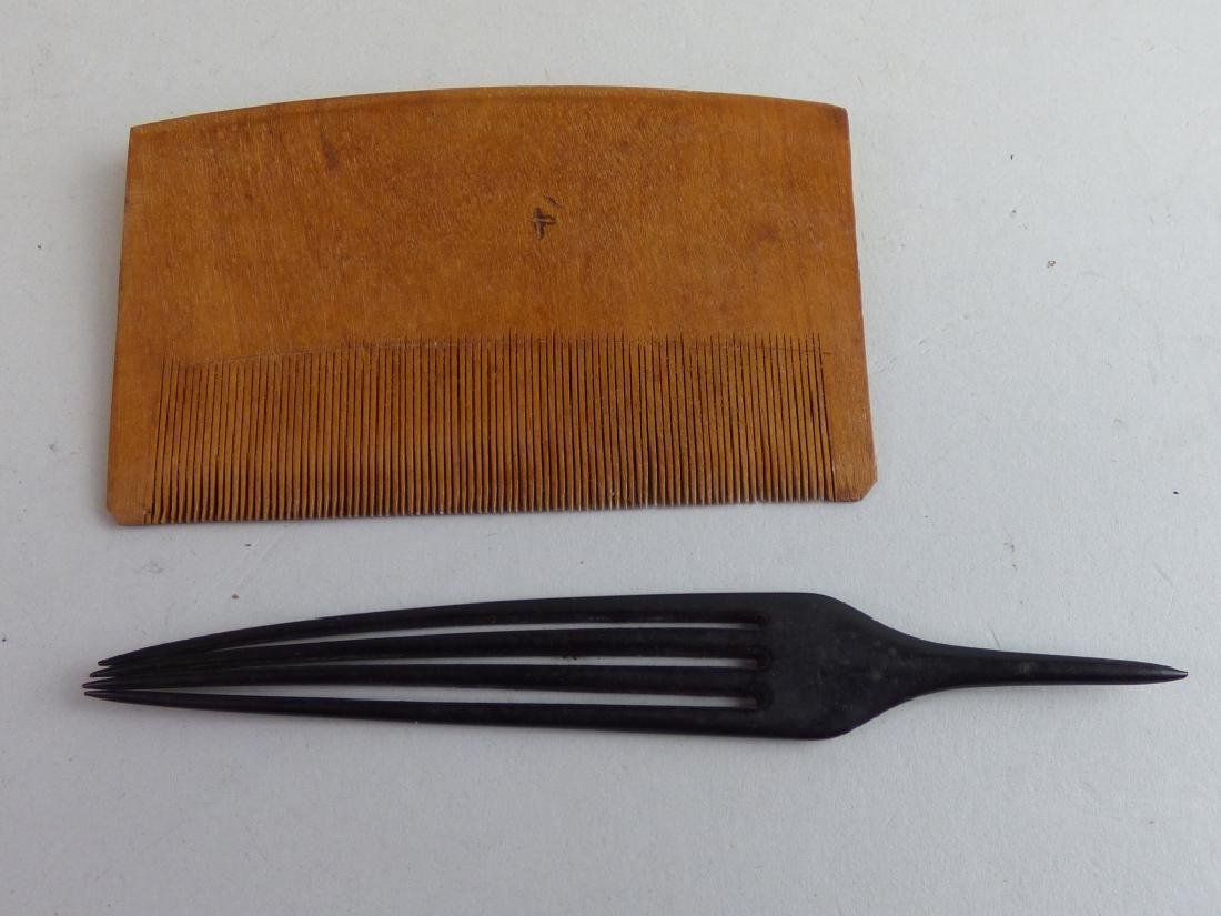 Group of Assorted Geisha's Wig Combs - 4