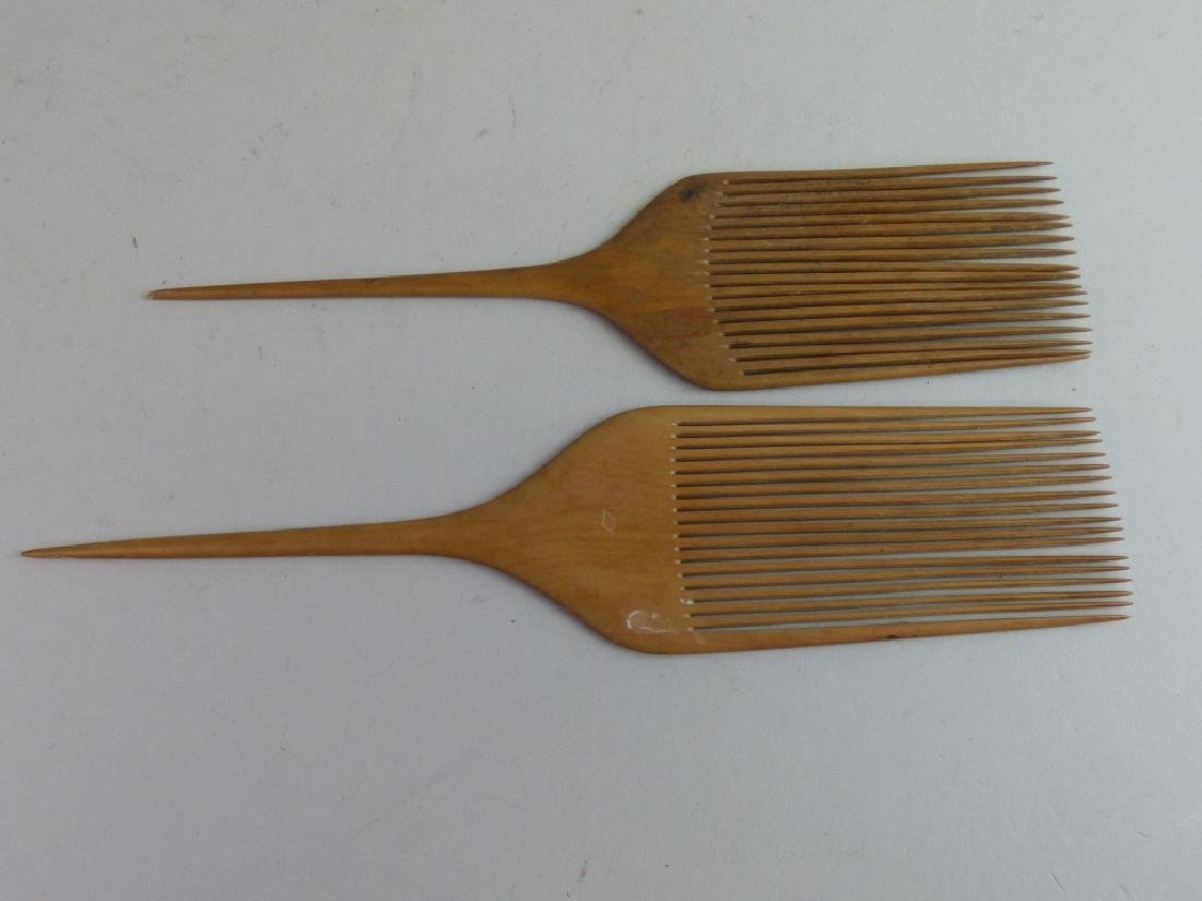 Group of Assorted Geisha's Wig Combs - 5