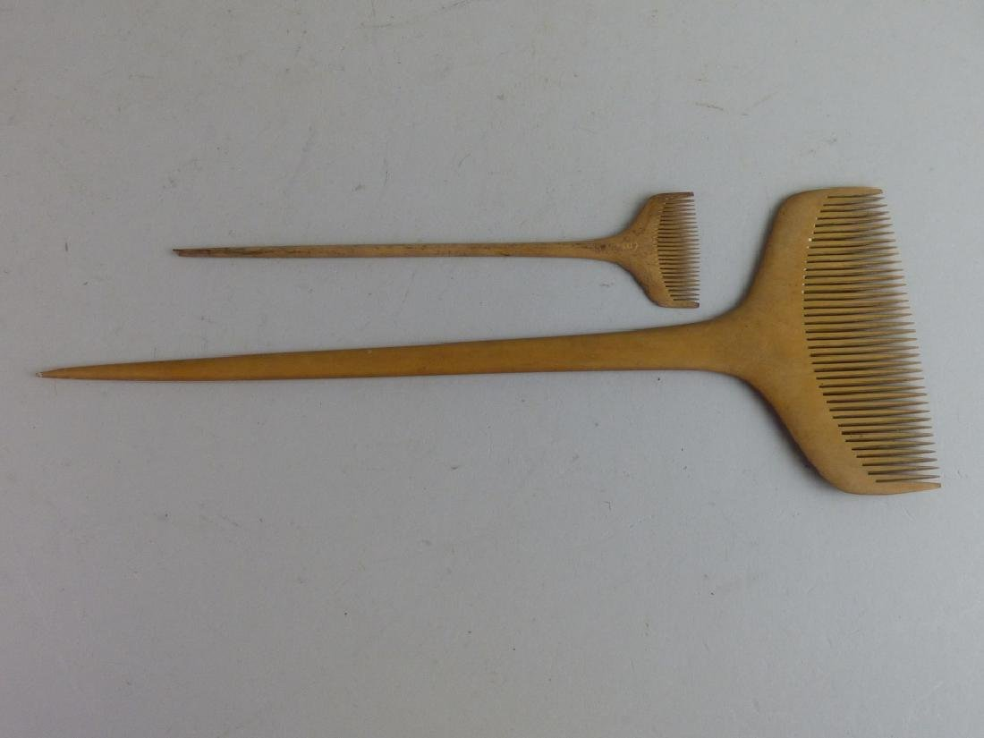 Group of Assorted Geisha's Wig Combs - 6