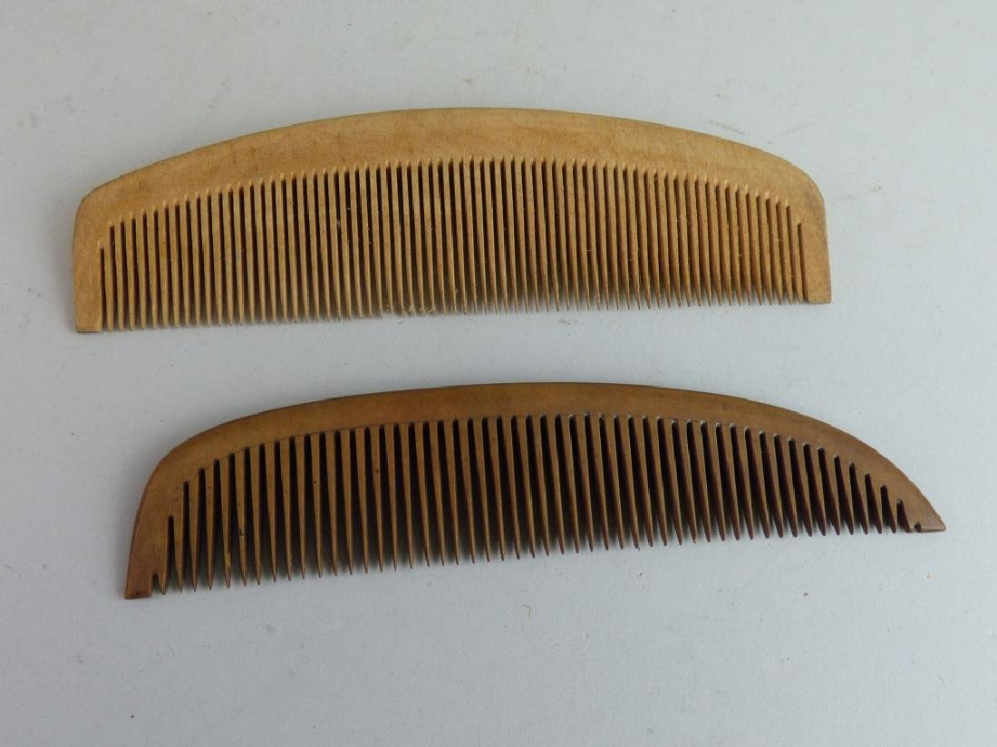 Group of Assorted Geisha's Wig Combs - 7