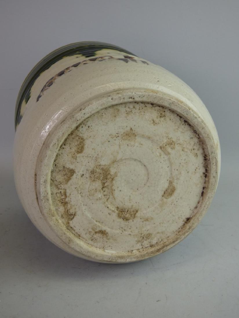 Japanese Oribe-Style Pottery Hibachi - 2