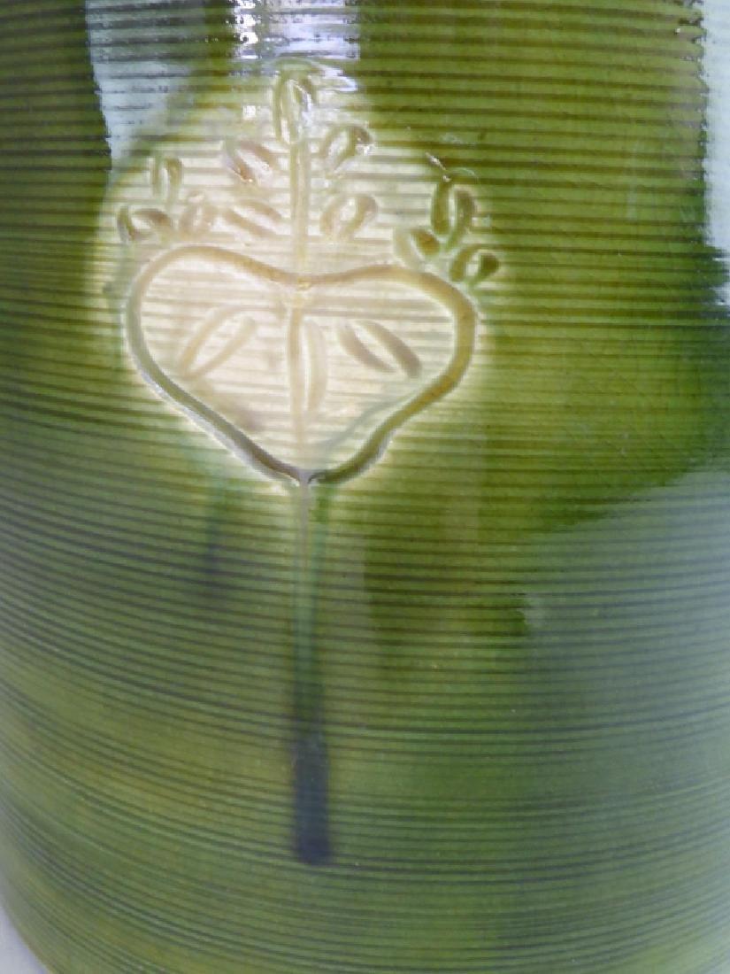 Japanese Oribe-Style Pottery Hibachi - 4