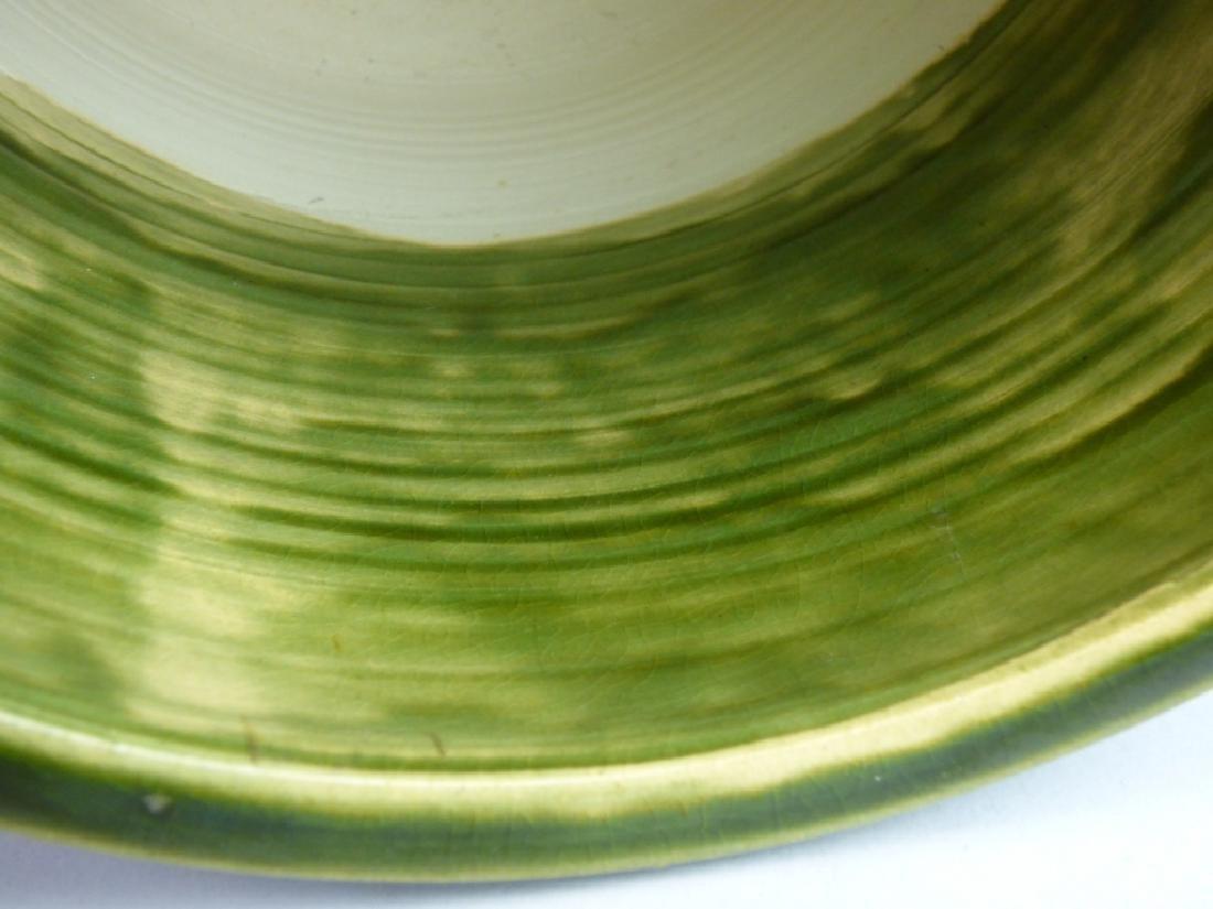Japanese Oribe-Style Pottery Hibachi - 9